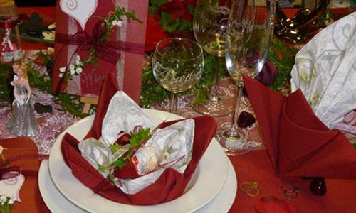 Tischdekoration zur Hochzeit
