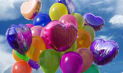 Helium- und Luftballons